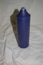Partylite Navy 3 x 9 Pillar Candle Colonial Candle of Cape Cod Blueberry... - $17.00