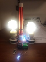 Fully Assembled Mini Tesla Coil Slayer Exciter Made in U.S.A - $19.80