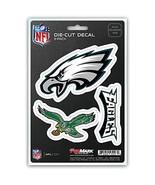 NFL Philadelphia Eagles Team Decal, 3-Pack - $10.95