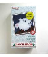 "Caron Wonder Art Snow Bear Latch Hook Christmas Craft Kit No. 4720 -12"" ... - $9.99"