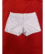Jcrew Lavender Shorts 100% Cotton Size 0 Women's - $19.21