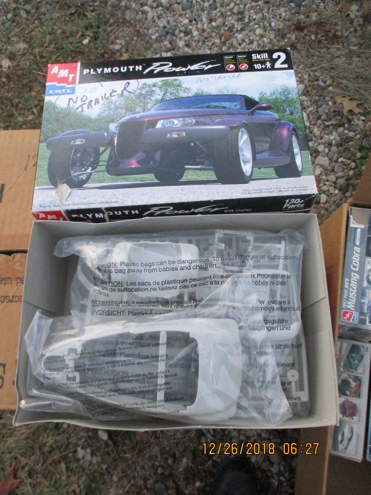 AMT Plymouth Prowler 1/25 scale no trailer
