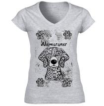 Weimaraner - New Cotton Grey Lady Tshirt - $24.83