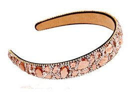Diamond Dead Hoop Wide-Brimmed Crystal Comfortable Hair Band