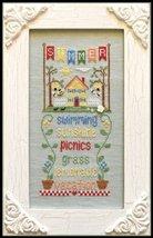 Summer Seasonal Celebrations cross stitch chart Country Cottage Needleworks - $7.20