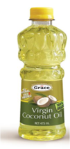 Grace Virgin Coconut Oil All Natural Cold Pressed 475ml - $23.38