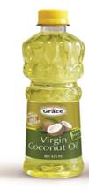 Grace Virgin Coconut Oil All Natural Cold Pressed 475ml - $23.38
