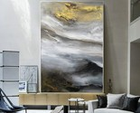 Contemporary abstract cloud mountain oil painting art1 thumb155 crop