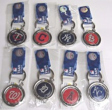 MLB Spinning Logo Key Ring Keychain Forever Collectibles -Select- Team B... - $11.99