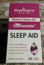 Sleep Aid with Valerian Root, Patented Suntheanine, 100% Natural, Chamomile... - $21.78