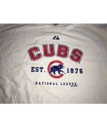 Chicago Cubs Majestic XL NWOT deadstock - $11.96