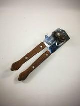Vintage Swing Away Can Opener Bottle Opener Wood Handle Made In USA - $15.99