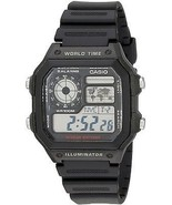 Casio Men's AE1200WH-1A World Time Multifunction Watch - $51.12 CAD