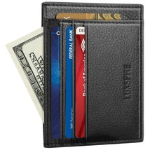 Front Pocket RFID Blocking Leather Slim Wallet, Money Clip, Credit Card - $18.40
