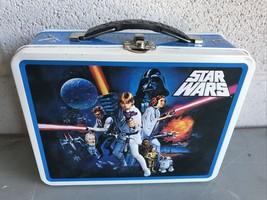 Star Wars A New Hope Tin Box Company Lunchbox Storage Box 2008 - $4.90