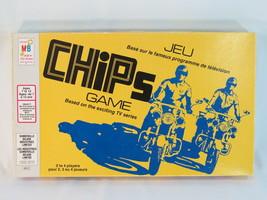 Chips 1977 Board Game TV Show Milton Bradley 100% Complete Bilingual EUC - $21.48