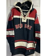 MLB Boston Red Sox Hoodie Red Retro XL Embroidered Men's Team Logo Fenw... - $99.95