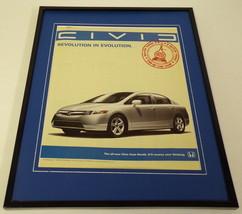 2006 Honda Civic Framed 11x14 ORIGINAL Advertisement - $32.36