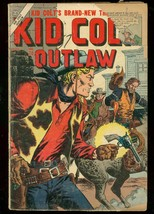 KID COLT OUTLAW #70 1957-ATLAS COMICS-WESTERN-SEVERIN FR - $18.62