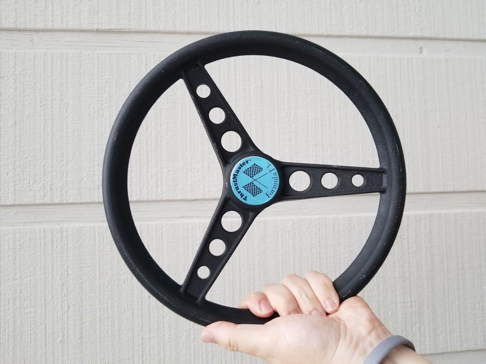 VINTAGE THRUSTMASTER FORMULA T1-Racing-Steering-Wheel ...