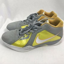 Nike KD 3 Wolf Grey, Yellow Basketball Shoes, Men's Size 11, 417279-003 - $37.99