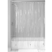 InterDesign Vinyl Long Liner, Mold and Mildew Resistant Plastic Shower u... - $14.81