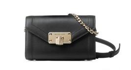 NWT Michael Kors Kinsley Small Leather Flap Crossbody Belt Shoulder Bag ... - $54.44+