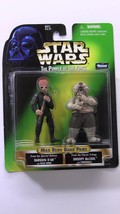 Star Wars Power Of The Force Barquin D'an & Droopy Mc Cool Set By Kenner 1998 - $25.00