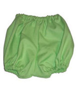 Preemie & Baby Unisex Mint Green Diaper Covers, Baby Bloomers  - $10.00