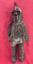 Very Rare Songye Tribe Ritual Kifwebe Trance Dance Figure ~ Congo ~ Africa - $300.00