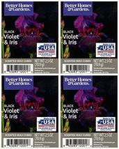Better Homes and Gardens Black Violet and Iris Wax Cubes 4-Pack - $24.45