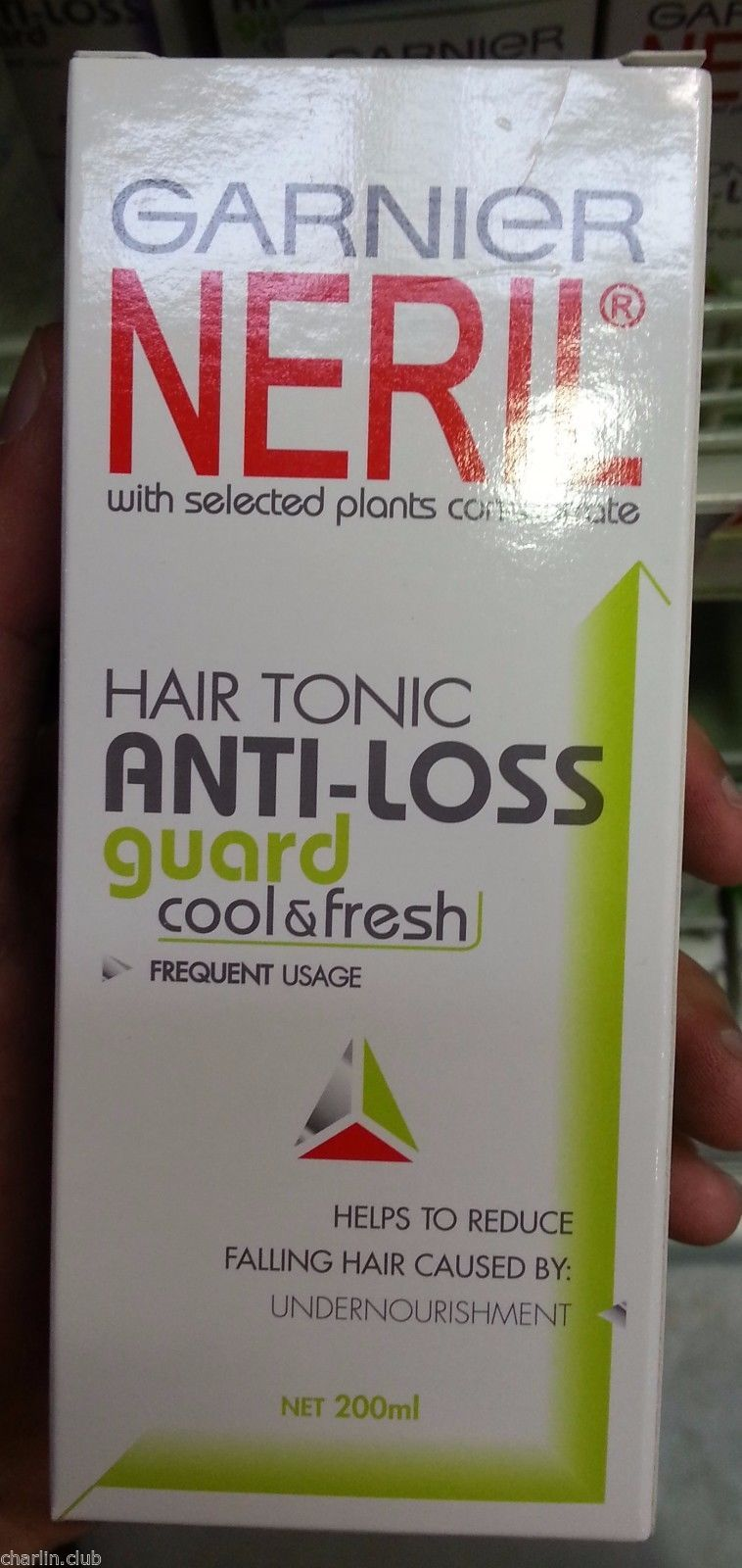 Garnier Neril Hair Tonic Antiloss 200 Ml Daftar Harga Terlengkap Anti Loss Guard Cool Fresh Contains 200ml1