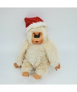 "9"" Russ Vtg Conga Santa Thumb Sucking Cream Gorilla Plush Stuffed Toy B350 - $14.99"
