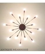 Brass Atomic Light Modern Hallway Copper Sputnik Chandelier Ceiling Fixt... - $293.02