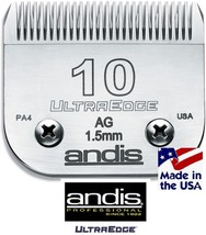 Andis AG/BG UltraEdge 10 Blade*Fit Oster A5,Many Wahl,Laube Clipper*Pet ... - $34.99