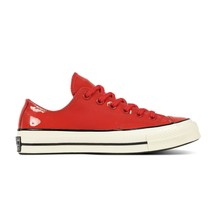 Converse Chuck Taylor 70 Ox Patent Leather Red White 162442C Mens Sneakers - $59.95