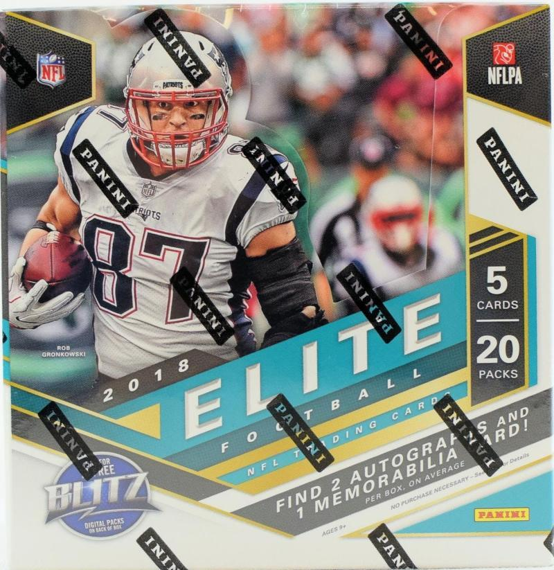 Primary image for 2018 Panini Donruss Elite Football Hobby Box - Factory Sealed!