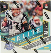 2018 Panini Donruss Elite Football Hobby Box - Factory Sealed! - $240.00