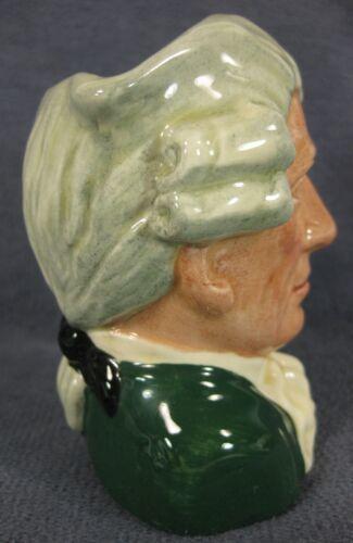 "Apothecary D6574 Royal Doulton Toby Jug Character Williamsburg Small 4"" 10cm  image 2"