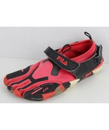Fila skill toes women's black red barefoot shoes size 5 - $13.01