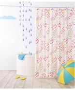 Pillowfort Fetching Florals Shower Curtain Flowers Pink Green Coral Kids... - $19.79