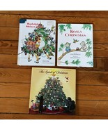 Lot of 3 RUDOLPH SHINES AGAIN Koala Christmas THE SPIRIT OF CHRISTMAS Ha... - $13.99