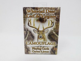 Rivers Edge Whitetail Deer Camouflage Playing Cards Deck - New - $7.99