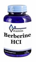 Berberine HCI 900mg 180 Capsules - Non-GMO, Gluten Free, GMP Blood Pressure and