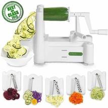 Spiralizer 5-Blade Vegetable Slicer, Strongest-And-Heaviest Spiral Slice... - $41.99