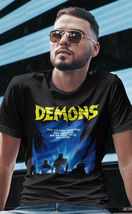 Demons movie T-shirt Demoni Italian vintage classic horror Poster graphic tee image 3
