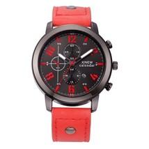 Mens Watches Men Leather Watch Men Fashion Vintage watch Relojes Lujo Marcas Men - $32.67