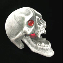 Life Size Alien Monster GOTHIC LIGHT UP VAMPIRE SKULL Halloween Prop Dec... - $12.84