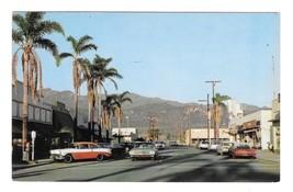 Carpenteria CA Street Vue Looking NE on Linden Ave Vintage Postcard Mike Roberts - $5.99