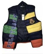 Polo Ralph Lauren Crest RLPC Packable Down Vest Puffer Jacket Track Men'... - $109.94